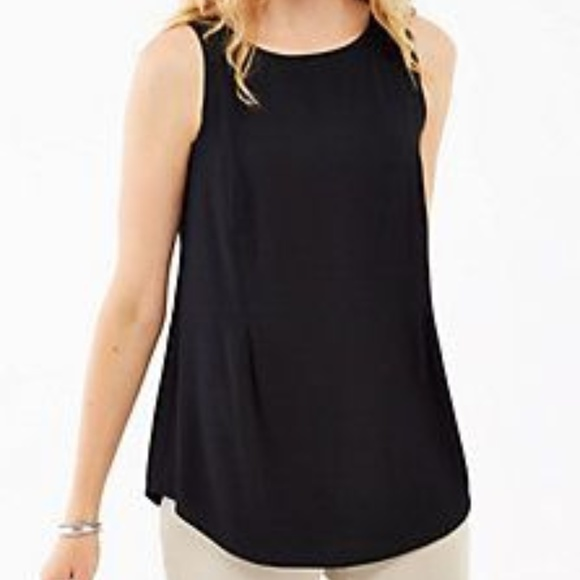 e3d8504f2b411 Old Navy Black Luxe High-Neck Swing Tank. M 5b44208a7386bc2ca9cbec73